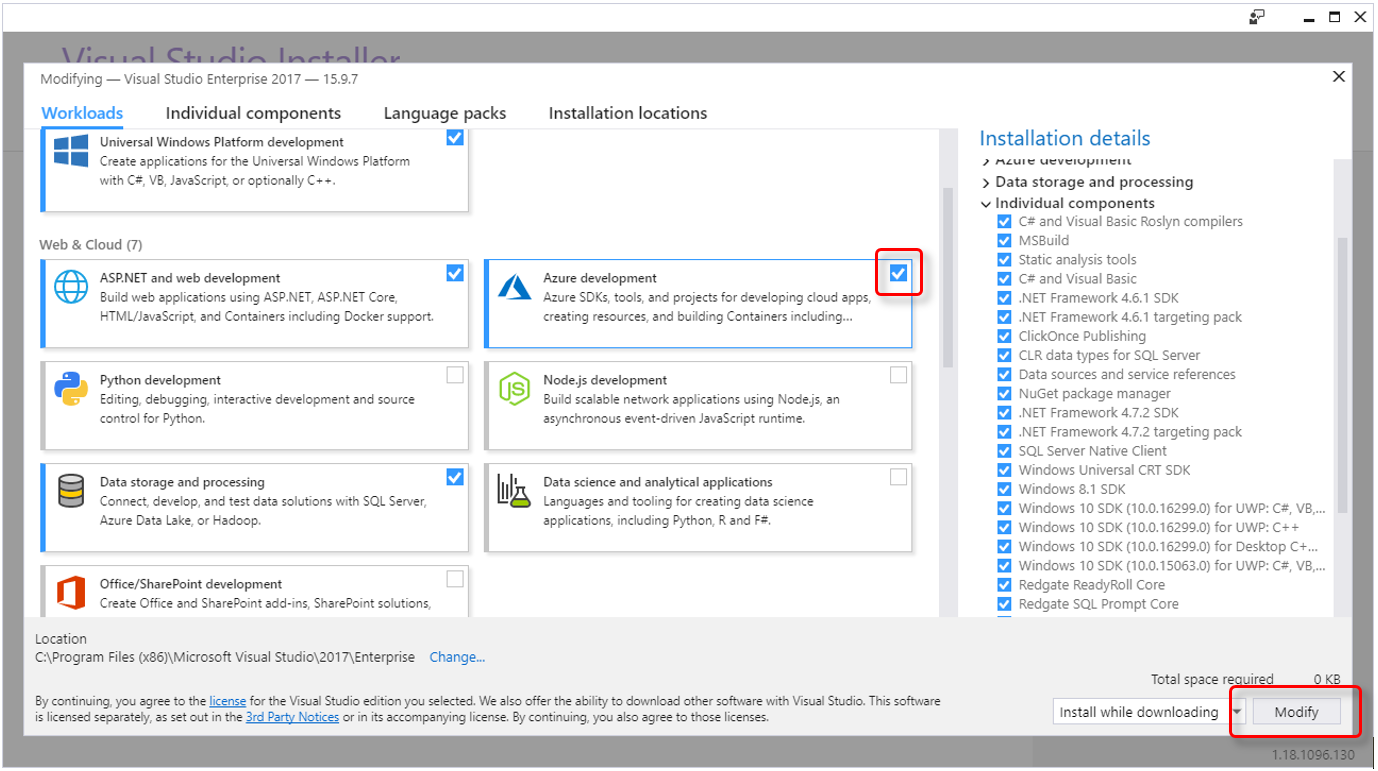 Developing a New Azure Function
